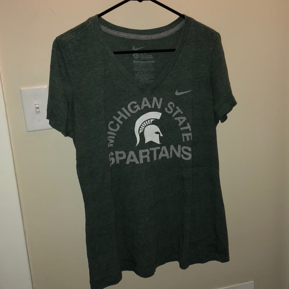 ceaed0706 Nike Tops | Michigan State Spartans Vneck T | Poshmark